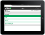 eCRM software Reporting