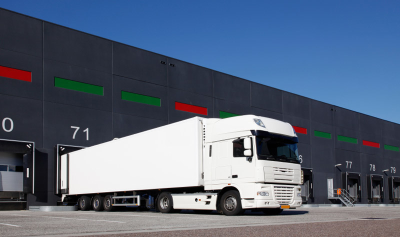 ERP software for distributors - image of a lorry
